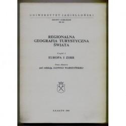 REGIONALNA GEOGRAFIA TURYSTYCZNA ŚWIATA. CZĘŚĆ 1: EUROPA I ZSRR [antykwariat]
