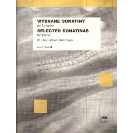 Jan Hoffman, Adam Rieger SELECTED SONATINAS FOR PIANO. BOOK 2