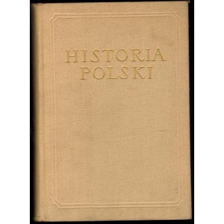 HISTORIA POLSKI TOM II CZĘŚĆ III: 1831-1864 [antykwariat]