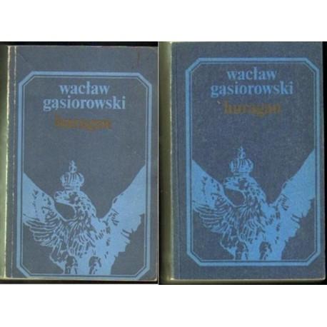 Wacław Gąsiorowski HURAGAN. TOM 1-3 [antykwariat]