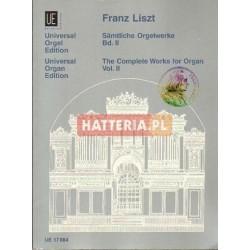 Franz Liszt SAMTLICHE ORGELWERKE. BD. II [antykwariat]