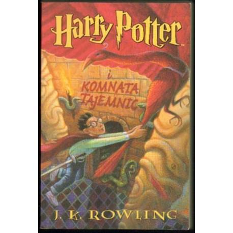 Joanne K. Rowling HARRY POTTER I KOMNATA TAJEMNIC [antykwariat]