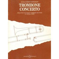Nicolai Rimsky-Korsakoff TROMBONE CONCERTO [antykwariat]