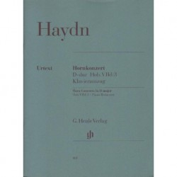 Joseph Haydn HORNKONZERT D-DUR HOB. VIId:3 [antykwariat]