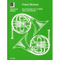 Franz Strauss HORN-KONZERT OP. 8 (1865) [antykwariat]