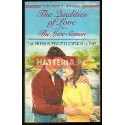 I. M. Fresson / Peggy Loosemore Jones THE QUALITIES OF LOVE / THE LOVE SEASON [antykwariat]