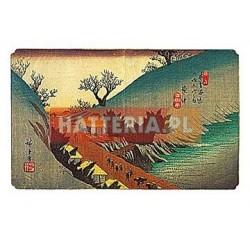 Utagawa Hiroshige WIOSENNY WIDOK ANNAKA [pocztówka]