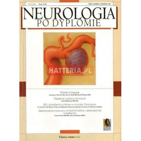 NEUROLOGIA PO DYPLOMIE. TOM 2 NR 2. MARZEC 2007 [antykwariat]
