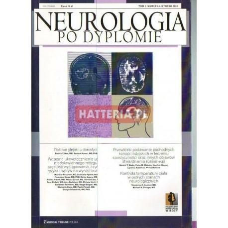 NEUROLOGIA PO DYPLOMIE. TOM 3 NR 6. LISTOPAD 2008 [antykwariat]