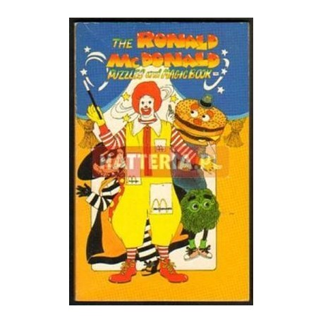 THE RONALD McDONALD PUZZLES AND MAGIC BOOK [antykwariat]