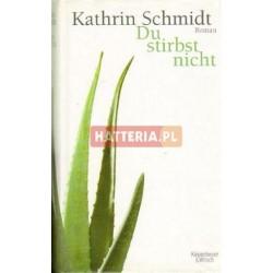 Kathrin Schmidt DU STIRBST NICHT [antykwariat]