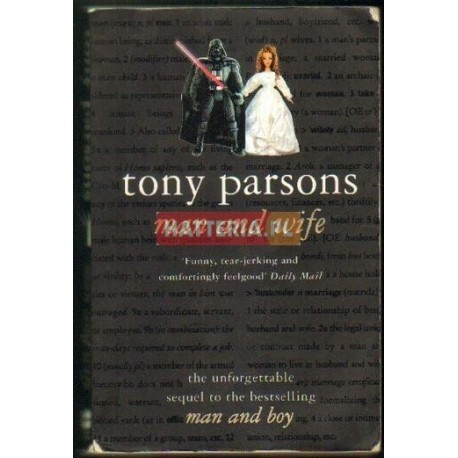 Tony Parsons MAN AND WIFE [antykwariat]