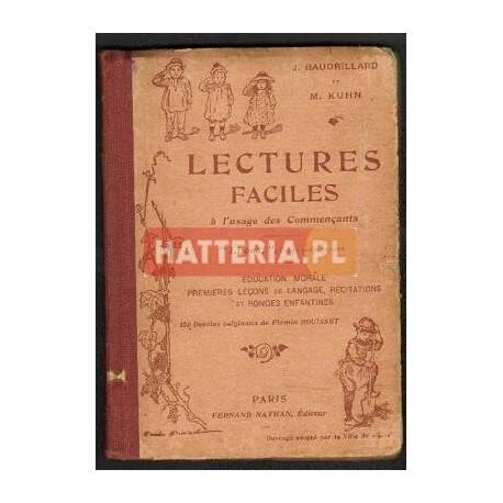 J. Baudrillard, M. Kuhn LECTURES FACILES A L'USAGE DES COMMENCANTS [antykwariat]