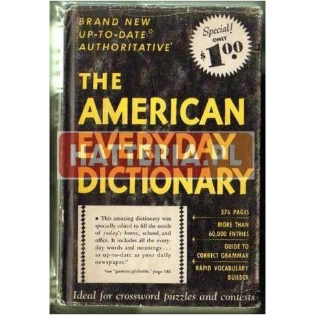 THE AMERICAN EVERYDAY DICTIONARY [antykwariat]