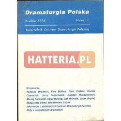 DRAMATURGIA POLSKA. NUMER 1 [antykwariat]