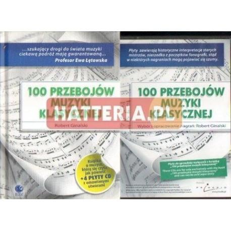 Robert Ginalski 100 PRZEBOJÓW MUZYKI KLASYCZNEJ [książka + 4 CD]