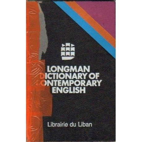 LONGMAN DICTIONARY OF CONTEMPORARY ENGLISH [antykwariat]