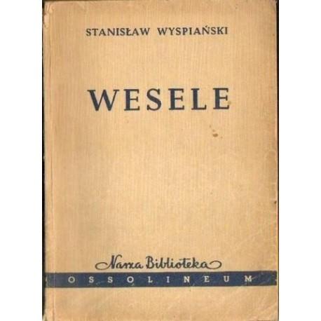 Stanisław Wyspiański WESELE [antykwariat]