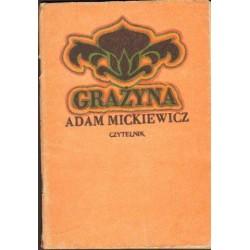 Adam Mickiewicz GRAŻYNA [antykwariat]