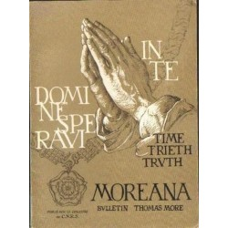 MOREANA: BULLETIN THOMAS MORE. Tom XXI, NR 83-84. DEC. 1984 [antykwariat]