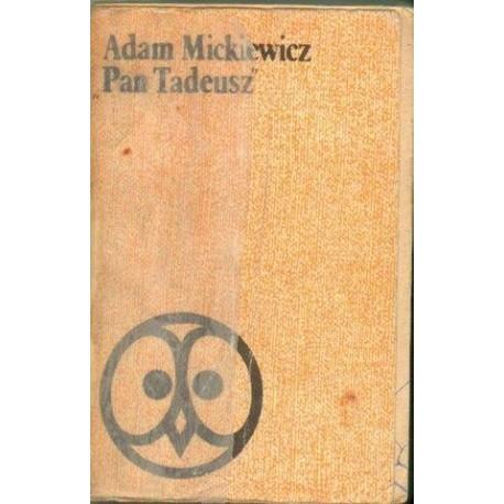 Adam Mickiewicz PAN TADEUSZ [antykwariat]