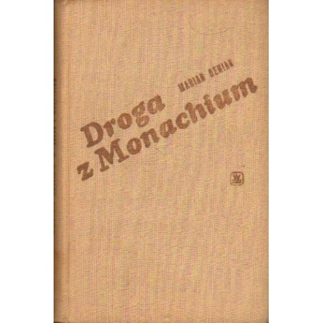 Marian Reniak DROGA Z MONACHIUM [antykwariat]
