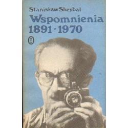 Stanisław Sheybal WSPOMNIENIA 1891-1970 [antykwariat]