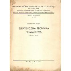 Mieczysław Wołek ELEKTRYCZNA TECHNIKA POMIAROWA [antykwariat]
