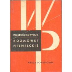 Ingeborg Borysiuk ROZMÓWKI NIEMIECKIE [antykwariat]