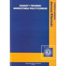 Janusz Klisiński (red.) ZASADY I TECHNIKI MARKETINGU POLITYCZNEGO