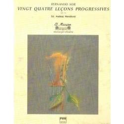 VINGT-QUATRE LECONS PROGRESSIVE NA GITARĘ OP. 31 Fernando Sor