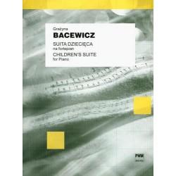 Grażyna  Bacewicz SUITA DZIECIĘCA NA FORTEPIAN