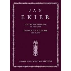 Jan Ekier KOLOROWE MELODIE NA FORTEPIAN + CD