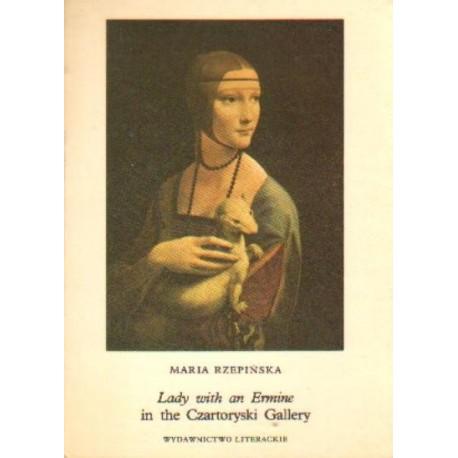 Maria Rzepińska LADY WITH AN ERMINE IN THE CZARTORYSKI GALLERY [antykwariat]
