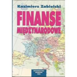 Kazimierz Zabielski FINANSE MIĘDZYNARODOWE [antykwariat]