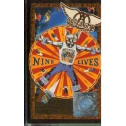Aerosmith NINE LIVES [kaseta używana]