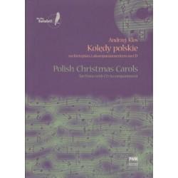 KOLĘDY POLSKIE NA FORTEPIAN Z AKOMPANIAMENTEM NA CD Andrzej Klos