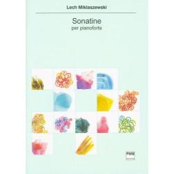 SONATINA NA FORTEPIAN Lech Miklaszewski