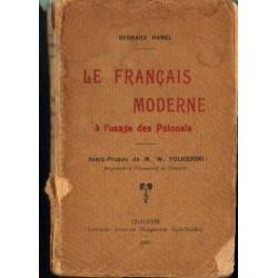 Bernard Hamel LE FRANCAIS MODERNE A L'USAGE DES POLONAIS [antykwariat]
