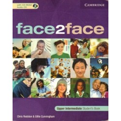 Chris Redston, Gillie Cunningham FACE2FACE. UPPER INTERMEDIATE. STUDENT'S BOOK [antykwariat]