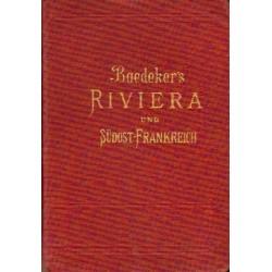Baedeker's RIVIERA UND SUDOST-FRANKREICH [antykwariat]
