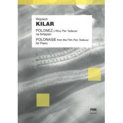 """POLONEZ Z FILMU """"PAN TADEUSZ"""" NA FORTEPIAN Wojciech Kilar"""
