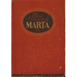 Eliza Orzeszkowa MARTA [antykwariat]