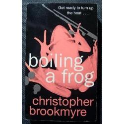 Christopher Brookmyre BOILING A FROG [antykwariat]
