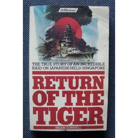 Brian Connell RETURN OF THE TIGER [antykwariat]