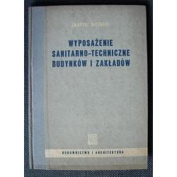 Andrzej Siciński WYPOSAŻENIE SANITARNO-TECHNICZNE BUDYNKÓW I ZAKŁADÓW [antykwariat]