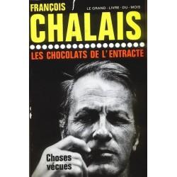 Francois Chalais LES CHOCOLATS DE L'ENTRACTE [antykwariat]