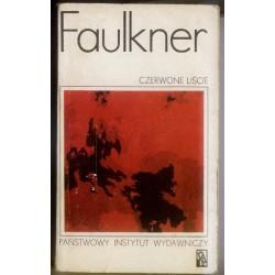 William Faulkner CZERWONE LIŚCIE [antykwariat]