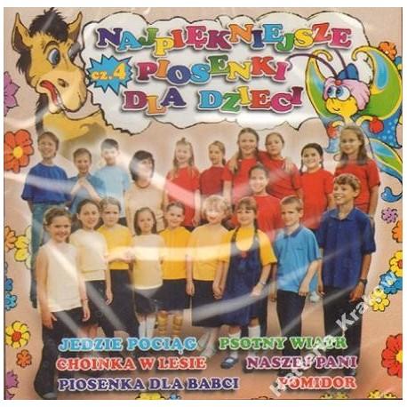 NAJPIĘKNIEJSZE PIOSENKI DLA DZIECI 4 [1 CD]