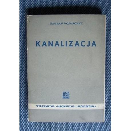Stanisław Wojnarowicz KANALIZACJA [antykwariat]